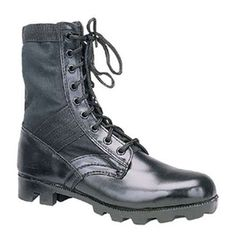 GI Style Black Cordura Nylon Speedlace Jungle Boot Army Surplus Store 024fa0967e