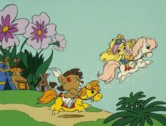 Paw Paws | 15 Cartoons From The '80s You Probably Forgot Existed  I do remember this very rasict show...but they were so cute!