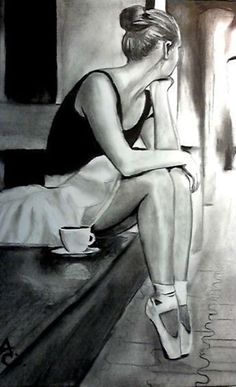 40 Stunning Ballerina Drawings And Sketches | http://art.ekstrax.com/2014/09/stunning-ballerina-drawings-and-sketches.html