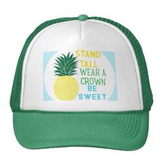 Pineapple Trucker Hat Irish Hat fe58bbd7a80a