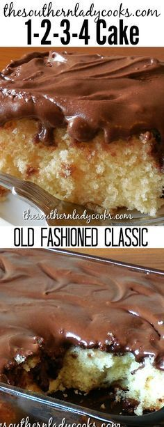 1-2-3-4 Cake is an old-fashioned classic cake and a great recipe for any occasion. Make it for any holiday, gathering or get-together. Simple and delicious. #cake #oldfashioned #classic #dessert #delicious #recipes #coffee #treat