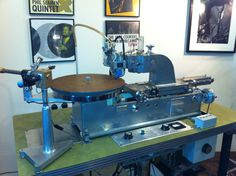 Haeco Scully Lathe circa 1967 at the Gearbox mastering and listening suite. Sweet! #Lathe #Vinyl #Scully