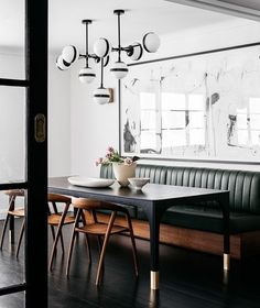 Booth Seating, Banquette Seating, Floor Seating, Kitchen Seating, Kitchen Booths, Kitchen Nook, Kitchen Decor, Interior Design Awards 2018, Modern Interior Design