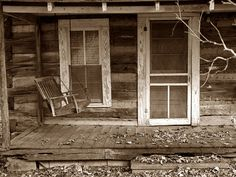 old cabin porch