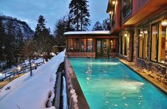 Les plus beaux spas où aller relaxer cet hiver Relaxer, Night Life, Outdoor Decor, Spas, Ottawa, Parfait, Home Decor, Winter, Travel