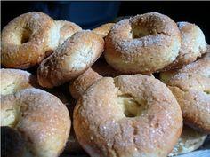 Rollos de huevo al horno | Alcoiama Blog: Cositas de andar por casa: RECETAS DE COCINA, FOTOS. Beignets, Donuts, Sweet Recipes, Cake Recipes, Cereal, Cookies, Bagel, Scones, Cheesecake