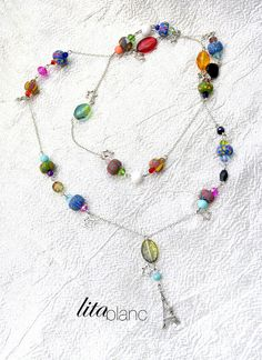 Les Colliers de Noel http://www.alittlemarket.com/boutique/lita_blanc-34641.html