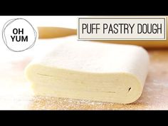 Puff Pastry Dough recipe - YouTube