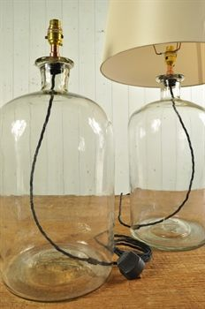 Vintage Bottle Table Lamps...I have the bottles, anyone have the diy skills?!