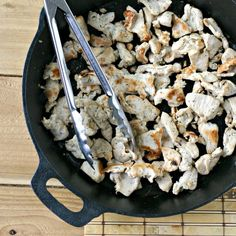 Easy and flavorful Lemongrass Chicken. Add to salads, sandwiches, spring rolls, stir-fry's and more!