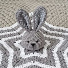 Mesmerizing Crochet an Amigurumi Rabbit Ideas. Lovely Crochet an Amigurumi Rabbit Ideas. Crochet Security Blanket, Crochet Ripple Blanket, Crochet Lovey, Crochet Rabbit, Baby Girl Crochet, Crochet Blanket Patterns, Crochet Dolls, Crochet Baby Blanket Tutorial, Lovey Blanket
