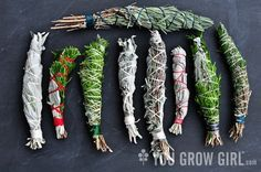 How To Make Your Own Smudge Sticks (Amazing Air Scents)