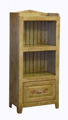 Amish Small Storage Bin In Pine Wood