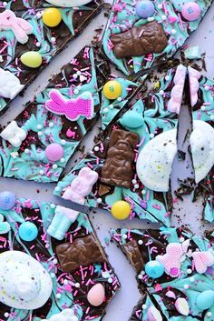 Easter Extravaganza Bark | #recipe by Sweetapolita