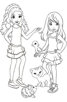 Charming Lego Friends Coloring Pages Printable Free   Căutare Google