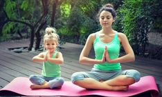 Yoga For Busy Parents: 7 Essential Poses No Parent Should Be Without - Sivana… Yoga Philosophy, Spiritual Practices, Baby Room, Parents, Essentials, Poses, Activities, Business, Blog