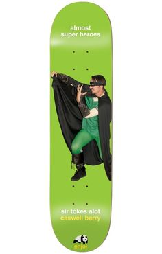 Enjoi Berry Almost Super Heroes 8.25 Impact Light Skateboard Deck - Skate Shop > Decks > Skateboard Decks