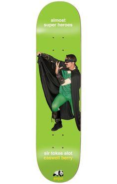 Enjoi Berry Almost Super Heroes 8.25 Impact Light Skateboard Deck - Skate Shop > Decks > Skateboard Decks