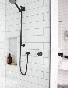 Bathroom profile: Marble & subway tiles - Homes To Love