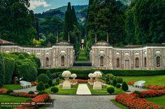 ROXANNA NAMAVAR & SHAMIM AHMED July 25, 2015 in Vila D'Este at Lake Como, Italy