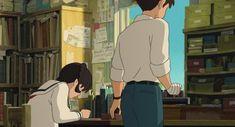Screencap Gallery for From Up on Poppy Hill Bluray, Studio Ghibli). Studio Ghibli Art, Studio Ghibli Movies, Disney Animation, Animation Film, Up On Poppy Hill, Arte Disney, Hayao Miyazaki, Webtoon, Cute Wallpapers