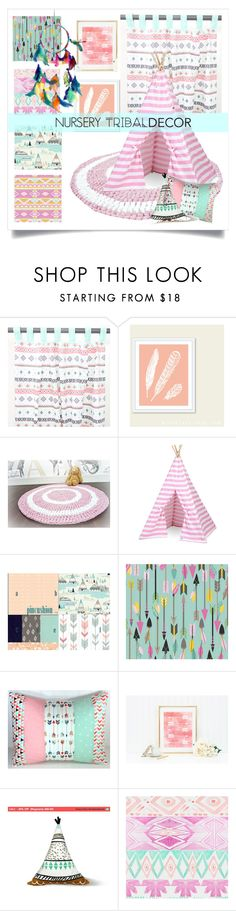 """""""Native American Nursery"""" by metter1 ❤ liked on Polyvore featuring interior, interiors, interior design, home, home decor, interior decorating and tribaldecor"""