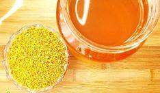 Suc de lâmâie cu polen și miere - tonic, întineritor | La Taifas Honey, Food, Eten, Meals, Diet