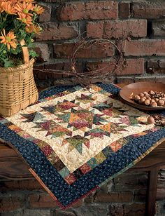 Kim diehl quilts - Simple Whatnots A Batch of Satisfyingly Scrappy Little Quilts – Kim diehl quilts Fall Quilts, Scrappy Quilts, Mini Quilts, Quilted Table Toppers, Quilted Table Runners, Quilt Block Patterns, Quilt Blocks, Civil War Quilts, Miniature Quilts