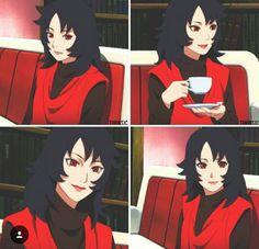 Sarada Uchiha, Kakashi Hatake, Naruto Shippuden, Shikatema, Naruhina, Asuma And Kurenai, Images Kawaii, Naruto Fan Art, Naruto Girls