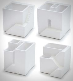 "09 Miniature Planters ""Ienami"" by Metaphys"