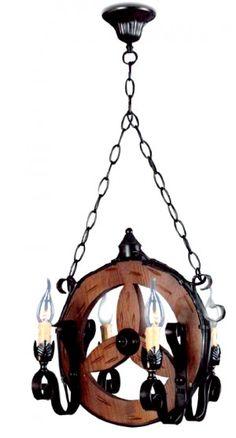 Κρεμαστό παραδοσιακό φωτιστικό 4φωτο