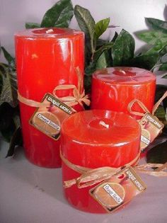 Set of 3 Round Pillars Orange Vanilla Scent Candle by Unique Aromas. $35.63. Price per set candle. Candle color may vary from photograph. Orange Vanilla scent. This set of candles is sure to bring joy and warmth to all those in the presence of them. Set of 3 candles.Some assembly may be required. Please see product details. Some assembly may be required. Please see product details.