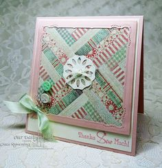Stamps - Our Daily Bread Designs Quilts, ODBD Soulful Stitches Paper Collection, ODBD Custom Doily DIes