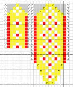 Melkein kuin uusi: Kettukarkkilapaset (ja neulekaavio!) Knitting Socks, Knit Socks, Knitting Patterns, Knitting Tutorials, Mittens, Projects To Try, Diagram, Chart, Crochet