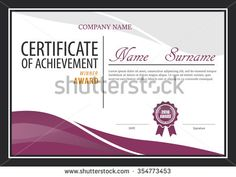 Free Diploma Certificate Template For Microsoft Powerpoint