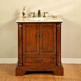 "Found it at Wayfair Supply - Casshern 32"" Single Bathroom Vanity Set"