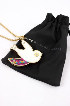 Marc by Marc Jacobs Dove Pendant Watch Necklace - $47.00