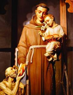 THE BRIEF OF ST ANTHONY  A woman who was troubled by spiritual forces stopped at a chapel to pray before a statue of St. Anthony. She fell asleep, and saw him whether in a dream or vision. Upon waking, she found a letter (brief) with words to put evil forces to flight.  The letter (brief) reads: Latin: Ecce crucem domini, fugite, partes adversae, vicit leo de tribu juda, radix david. Alleluia.  English: Behold the cross of the Lord! Begone hostile enemies! The lion of Juda, the offspring of…