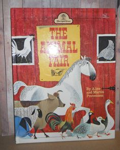Vintage Children's Book  The Animal Fair  by ButterflyInTheAttic, $6.95