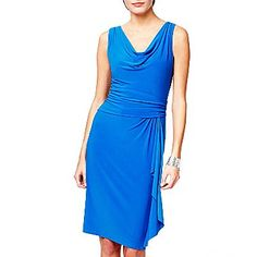 I like this style, it looks kind of cozy in a way too... buuuut this particular dress only comes in this blue color.