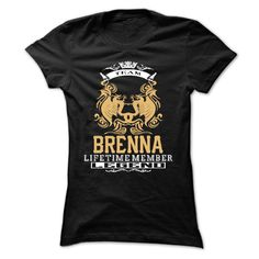 BRENNA . Team BRENNA Lifetime member Legend  - T Shirt, Hoodie, Hoodies, Year,Name, Birthday - T-Shirt, Hoodie, Sweatshirt