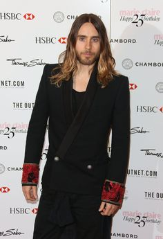 Jared Leto at Marie Claire 25th Birthday Celebration, London.- 17-09-2013