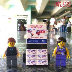 Lego Literature cart