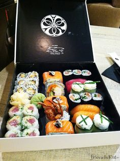 Sushi box! Like, happy birthday to me all day.