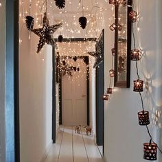 Create a magical walkway | Christmas party ideas - 10 of the best | Christmas | Decorating | Housetohome.co.uk