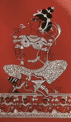 Lalita Tripurasundari by Sri Pada Nupuram