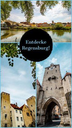 Regensburg, meine Heimatstadt, liegt mitten in Bayern und ist auch die Hauptstadt des Regierungsbezirks Oberpfalz. Hier erfährst du, was du an einem Tag in Regensburg machen kannst und was dieses Stadt so besonders macht! Germany, Beautiful, Photos, Viajes, Regensburg, Old Town, Road Trip Destinations, Deutsch