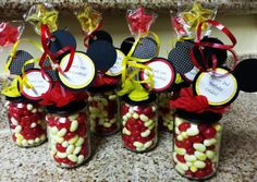 Mickey Mouse Clubhouse Baby Food Jar Party Favors