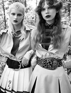 Vogue Italia October 2016 - Litay Marcus, Aniek Klapwijk, Giedre Seks - David Dunan