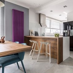 A beautiful 2 column deep classic column radiator painted in purple or is it aubergine or even plum! . The column radiator offers the ultimate flexibility, go tall and skinny or low and long. . We are here to help you make the best decision for your space. . Remember we this radiator comes in 24 heights (horizontal radiators and vertical radiators), 5 depths and lengths to meet the space you have available. #columnradiator #tubularradiator #designerradiator .